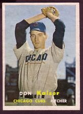 1957 TOPPS DON KAISER  CARD NO:134 NEAR MINT