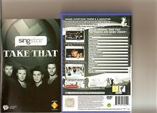 SINGSTAR TAKE THAT PLAYSTATION 2 PS2  PS 2 KARAOKE