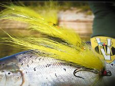 3 Vainer's Ultimate RV Super Hot Banana Size 10 Double Salmon V Flies