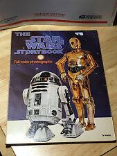 Vintage 1978 The Star Wars Storybook TV 4466 - Darth Vader Back Cover Color
