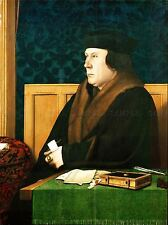 PAINTING ANTIQUE HOLBEIN JUNIOR THOMAS CROMWELL ART PRINT POSTER LAH509A