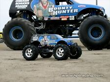 HPI 7186 Bounty Hunter 4x4 corps [ claire 1 / 8e monster truck body coquilles ] NOUVEAU!