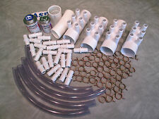 """Manifold Hot Tub Spa Part 24 3/4"""" Outlets Glue with Coupler Kit Video How To"""