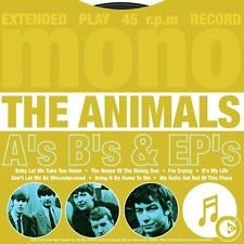 THE ANIMALS - THE SINGLES A'S B'S & EPS: CD ALBUM (2003)