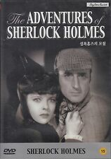 THE ADVENTURES OF SHERLOCK HOLMES NEW DVD