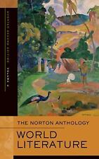 The Norton Anthology of World Literature: (Shorter Second Edition)-ExLibrary