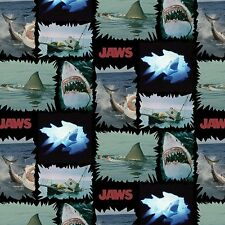 JAWS SHARK TORN PATCHES FABRIC CP59685