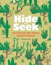 Hide and Seek: An Around-the-World Animal Search, Charlene Man, New Book