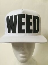 TISA WEED Snap back (White)