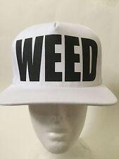 TISA WEED Snap back (White)