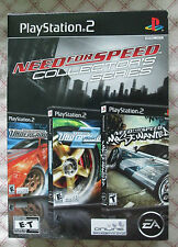 Play Station 2 PS2 Need for Speed Collector's Series