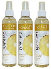3 CALGON PINEAPPLE COCONUT BODY MIST SPRAYS 8 oz ea GET JUIC'D NEW! HTF!