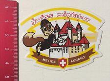 Aufkleber/Sticker: Swiss Miniatur - Melide Lugano - Schweiz (170316188)