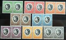 BritishSouth West Africa Coronation set 1937 MH *