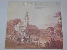 Mozart - Günther Herbig -Serenade D-dur KV 189 & KV 185- LP Eterna black