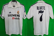 2002-2003 Real Madrid Jersey Shirt Camiseta Home Raul #7 S UEFA Champions League