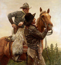 """""""Name Your Price"""" Don Stivers Western Limited Edition Giclee Print"""