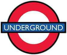 "London Underground United Kingdom UK Bumper Window Locker Sticker Decal 5""X4"""