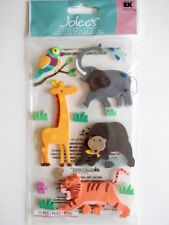 JOLEE'S DIMENSIONAL FOAM STICKERS - ZOO ANIMALS