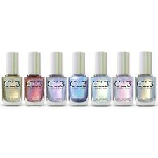 Color Club Halo Hues 2015 Holographic Nail Polish Lacquer Set of 7