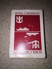 Royal Caribbean Cruise Lines Playing Cards Red Box 54 Deck