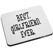 Beegeetees Best Girlfriend Ever Mouse Pad Valentines Day Birthday Gift BestGir