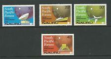 Nauru 1981 Sth Pacific Forum  Set 4  SG 252 - 255 Complete MUH/MNH as issued