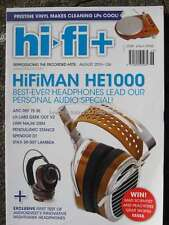 Hi-Fi+ Plus August 2015 HiFiMan HE1000 Linn Majik DSM Audioquest Nighthawk