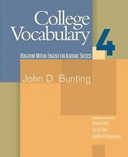 College Vocabulary 4 by Bunting