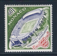 MONACO #553 British Football Centenary 1863-1963 Wembley Stadium MNH VF OG 1963