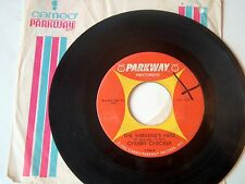 CHUBBY CHECKER-PARKWAY 936 NORTHERN SOUL 45 THE WEEKEND'S HERE   VG++
