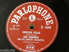 78rpm RON GOODWIN swedish polka / lingering lovers R 4349