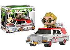 FUNKO POP VINYL RIDES GHOSTBUSTERS ECTO 1 WITH JILLIAN HOLTZMANN FIGURE & RIDE