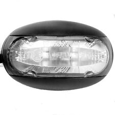 LED Domed Clear Lens Marker Light 'E'9 Marked White Light