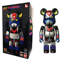 Medicom BE@RBRICK Super Alloyed Plated Chrome 200% UFO Grendizer Bearbrick MISB