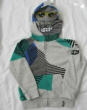 VOLCOM toddler boys 2T facemask fleece hoodie sweatshirt jacket NEW