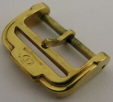 used gold plated Swiss Baume & Mercier buckle 16 millimeters