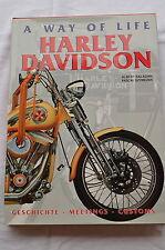 Buch A Way of Life Harley Davidson Geschichte Meetings Customs