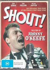 SHOUT! THE STORY OF JOHNNY O'KEEFE - NEW & SEALED DVD - FREE LOCAL POST