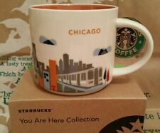Starbucks Coffee Mug/Tasse/Becher CHICAGO ,You Are Here,NEU m.Sticker i.OVP-Box!