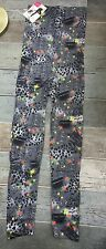 Sexy Body/Control Leggings with Spandex, Animal Print/Floral One Size 8-12, BNWT