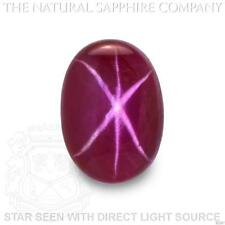 Natural Untreated Star Ruby, 3.37ct. (S2267)