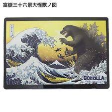 2016 GODZILLA & Ukiyoe Hokusai Mouse Pad with Case Designed & Made in Japan New