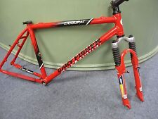 "Gary Fisher Ziggurat MTB frame 17.5"", with Judy Rock Shox xc fork plus extras VG"