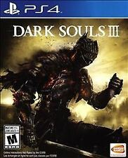 New Factory Sealed - Dark Souls III 3 for PS4 Playstation 4 Standard Edition