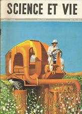 REVUE SCIENCE ET VIE MECANISATION AGRICULTURE RENE RAVO ILLUSTRATEUR 1946
