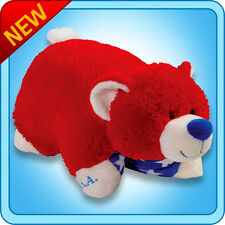 "Authentic Pillow Pets Bear Patriotic USA Large 18"" Plush Toy Gift"
