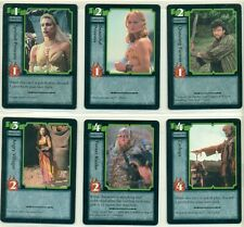 HERCULES - CCG - TRADING CARD GAME - CARD LOT - 30 DIFFERENT CARDS - XENA