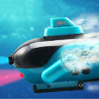 Mini Boat Green Radio RC Remote Control Sub Submarine Explorer LED Toy Free Ship