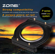 ZOMEI Aluminum Square Filter Holder Mount +72MM Adapter Ring For Cokin P series